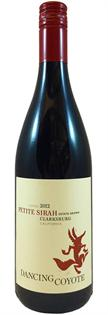 Dancing Coyote Petite Sirah 2012 750ml - Case of 12